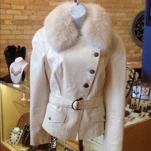 Cache Leather Jacket